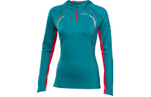 Asics Women&#039;s Hoody strong teal/diva pink